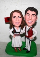 bobblehead cake toppers- 10856