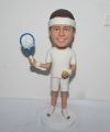 Custom Bobblehead Tennis Player