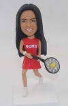 Personalized Tennis Bobblehead