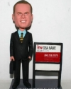 Custom bobbleheads Real estate agent