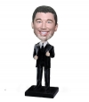 Thumb up businessman custom bobbleheads