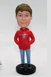 Custom bobbleheads for boy