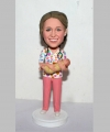 Obstetric Nurse custom bobblehead