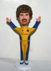 Custom bobblehead cheering man