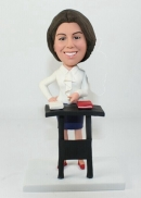 Custom lawyer bobblehead