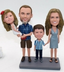 Custom family bobblehead dolls