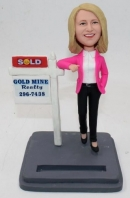 Custom bobbleheds realtor