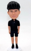 Custom cyclist bobblehead dolls