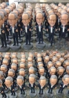 50 custom bobbleheads wholesale same face dolls
