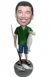 Custom Fishing bobblehead