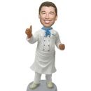 Male Chef custom bobbleheads