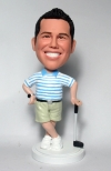 Custom Bobbleheads gifts for golf player
