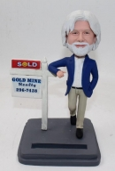 Custom bobbleheads realtor
