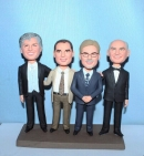Custom co-workers bobbleheads