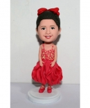 Flower girls bobblehead 3059-1