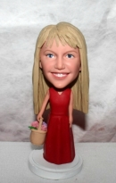 Flower girls bobblehead 1190