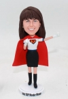 Custom bobblehead office lady wonder woman