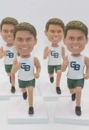 4 custom bobbleheads bulk with same face