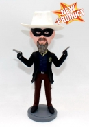 Custom bobblehead with guns action figurine