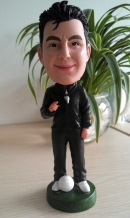 Custom Coach bobblehead