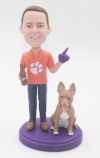 Custom Bobbleheads with Dog