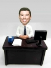 Custom office man bobblehead