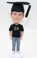 Personalized bobblehead doll graduation