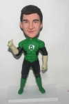 Green Lantern custom bobbleheads