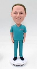 Personalized bobblehead gift for surgeon
