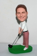 Custom bobbleheads gifts golf player
