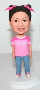 Custom girl bobbleheads
