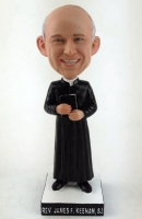Custom bobbleheads pastor priest