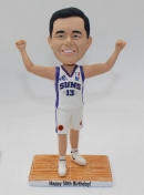 Custom basketball bobblehead birthday gift