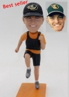 Custom bobblehead Running with hat