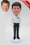 Custom bobblehead gift for boss or dad