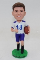 Custom bobble head dolls with rugby