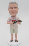 Personalized bobbleheads with Ukulele