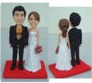 bobblehead cake toppers- L35
