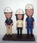 custom work partners bobbleheads