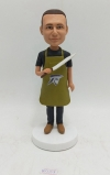 Custom Bobbleheads Cook Chef