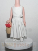 Flower girls bobbleheads BB18