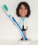 Female Dentist custom bobbleheads