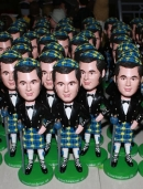 Set of 100 Identical bobbleheads