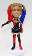 Custom Harley Quinn bobble head dolls