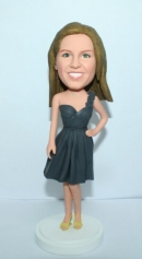 Bridesmaid bobblehead 2651-1