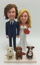 Make your own wedding Bobbleheads