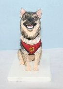 Custom Dog bobbleheads from photo