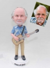 Custom Bobblehead Doll with Hawaiian shirt