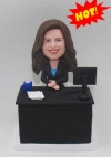 Custom Bobblehead Doll for Office Woman