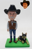 Custom bobblehead for Cowboy